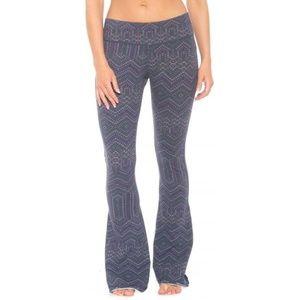PrAna Kali Bell Bottoms Flared Yoga Pants M